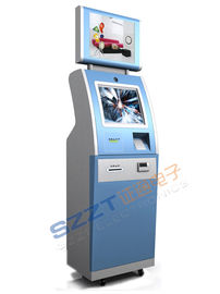 China ZT2223-C Retail / Ordering / Bill Payment Kiosks / Lobby Kiosk Machine with Dual Screen supplier