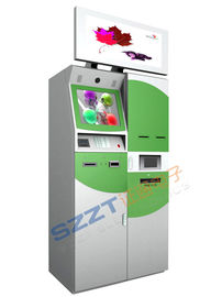 China ZT2950 Customized Design Bill Payment & Card Dispenser Lobby Kiosk with Dual Screen supplier