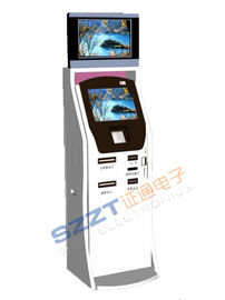 ZT2386 Free Standing Ticketing / Card Printing / Ticket Vending Kiosk with Barcode Reader & Card Reader