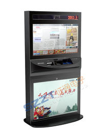 China ZT2781 High Safety Large Screen lobby Kiosk with large size touch monitor supplier
