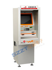 China ZT2091 Anti Vandalism Through Wall Ticket Vending Kiosk with Account Transfer supplier