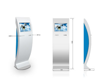 ZT2409 Lobby Hotel  Self Check In Kiosk with Information inquiry
