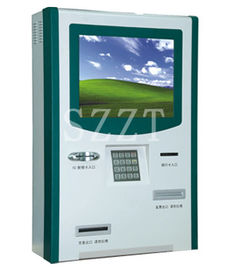 ZT2830 Win 7 Bill Payment & Financial / Banking Wall Mounted Kiosk with Card Recharge & Cell Phone Top-up