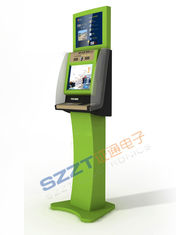Free Standing Ticket Vending Kiosk with RFID Card Reader & dual screen ZT2133