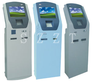 China Banking Kiosk series Free Standing / Lobby Windows 7 Information  ZT2880 supplier