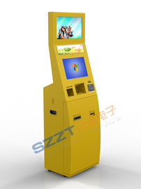 China Lobby Style Check-in Kiosk with RFID card reader Self Check In Kiosk supplier
