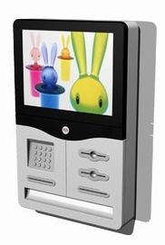 Wall-mounted Elegant & Innovative design Financial / Retail Mall Kiosk ZT2834-D00