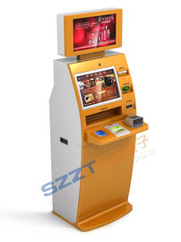 Lobby Kiosk Self - Service Multifunction Cash dispenser / ATM with multi-card reader ZT2910
