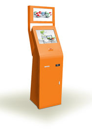 China ZT2602 High stability free Standing Bill Payment Kiosk with touch screen supplier