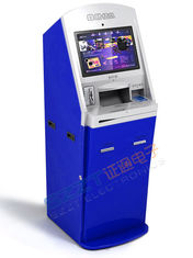 ZT2401 Airline / Airport Check - In Lobby Kiosk with Passport Reader, Ticketing / Card Dispensing