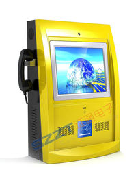 Elegant & Innovative design Multimedia Wall Mounted Kiosk with card reader ZT2838-C00