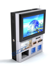 Financial / Information Wall Mounted Banking Kiosk For Payment ZT2834-A00