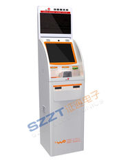 Banking Kiosk Dual Screen Financial Kiosk with receipt