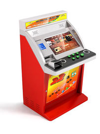 Self - Service Lottery Custom Kiosks with Credit Card / Cash / Coin Payment