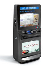 China ZT2781 High Safety Large Screen lobby Ticket Vending Kiosk, Card Reader Kiosk For Ticket Printing supplier