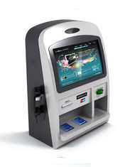 Customized Retail / Ordering / Payment Wall Mounted Kiosk with Card Reader for Receipt Printing