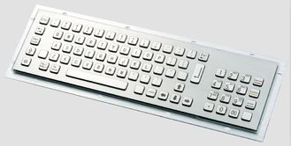 ATM Keyboard With PCI EPP , Self Service Terminal Metal Keyboard With Trackball