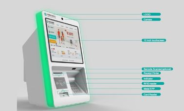 China Compact Wall Mounted Kiosk Payment Designed For ABC , ZT2335 supplier