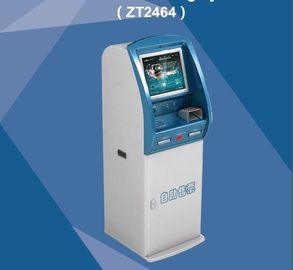 China Booking Ticket Vending Kiosk Self Service ZT 2464 Card Payment Terminal supplier