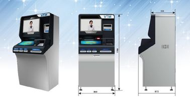 The 3rd Generation Banking Kiosk Self Service Smart Video Teller Kiosk ZT2980