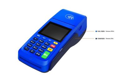 China Hotel Linux handheld POS Payment Terminal KS8218 , Blue Red Yellow supplier