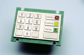 PCI Approved ATM Keyboard  Stainless Pressing Keys Human - Oriented Button