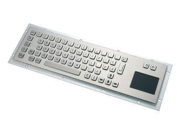 China Customized Stainless Steel Keyboard  Multiply Communication Ports For Self - Service Terminals supplier