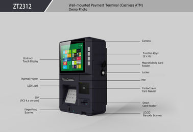 China Cashless Payment Terminal with Smart Self - service Payment Solition supplier