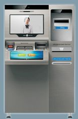 Interactive Information Kiosk ZT2980 VTM , Video Teller Machine