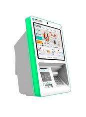 "China 19"" Wall Mounted PC Financial Kiosk Bank Account Information Enquiry supplier"