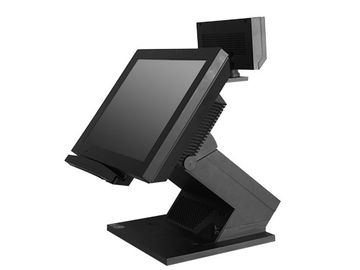 China 12.1 Inch Touch POS Terminal With Magnetic Card Reader Barcode Scanner Cash Draw supplier