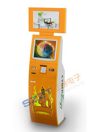 China ZT2223-B Free Stangding Stainless Steel Bill Payment Kiosk with Account Inquiry & Transfer supplier