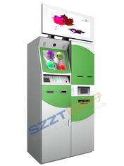 Customized Lobby banking / Banking Kioskwith card dispenser, cash dispenser