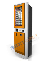 China ZT2180 Free standing Gaming / Digital Signage Custom Kiosks With Cash / Coin Acceptor supplier