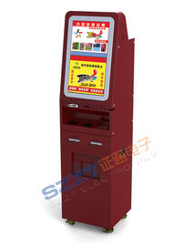 ZT2181 Free standing Custom Kiosks for Gaming / Internet / Information Access