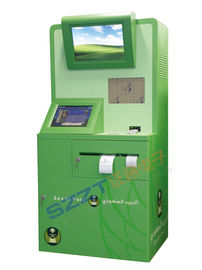 Elegant Postal Custom Kiosks for Self - Service Weighting , Charging ZT2184