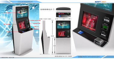 Lobby Style Interactive Payment & Information & Advertising Digital Signage Kiosk ZT24x1