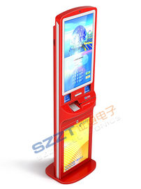 China Innovative Interactive Payment / Advertising / Digital Signage Kiosk ZT2181 supplier