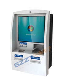 China Wall - Mounted 15, 17, 19 inch Retail / Interactive Information Kiosk with Barcode Reader ZT2830 supplier