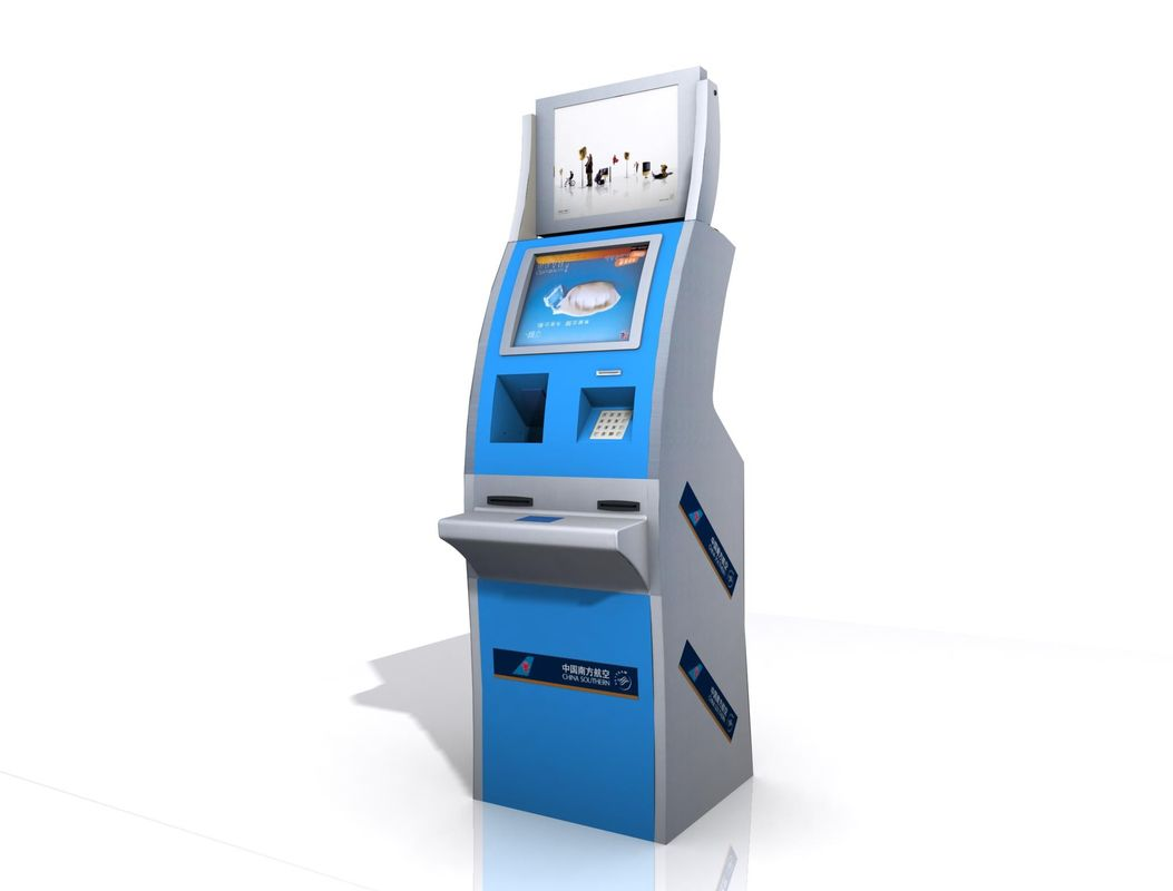 Self Check In Kiosk Lobby Style Kiosk With Boarding Pass Printing