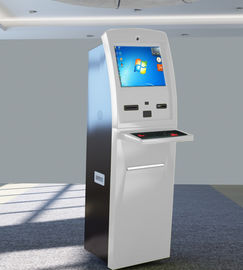 China Internet Banking Kiosk , Financial Cash Payment Kiosk Explosion Proof Design factory