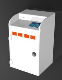"China 8-10"" Safe Bank Kiosk Machine With 58mm Thermal Printer / Cash Acceptor factory"