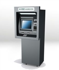 China Self Service Through The Wall ATM Machines For Cash / Money Depositing And Dispensing factory
