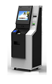 China Currency Exchange Kiosk ATM Machine With Credit Bank Cards And Cash factory